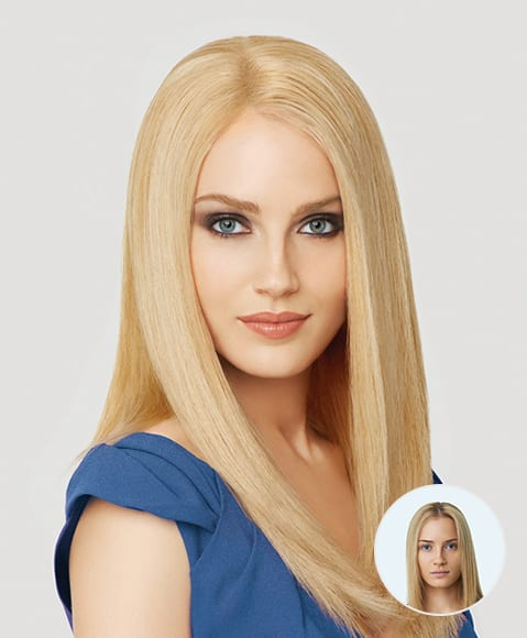 Bruno's Hair Solutions Women's Hair Replacement Gallery Before and After